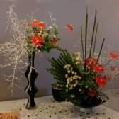 Икебана — как составлять композиции из цветов
