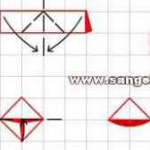 Как сделать ананас из модулей оригами