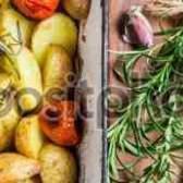 Картошка с розмарином оливер