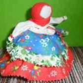 Народная кукла колокольчик карпатский
