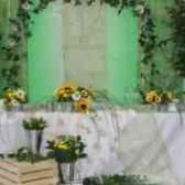 Оформление свадьбы каллами