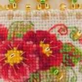 Примула из бисера схемы плетения бисером