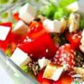 Салат из курицы с ананасами и грибами пошаговый рецепт с фото