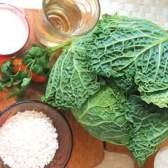 Заготовка савойской капусты