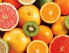 Маленькие цитрусовые плоды каштана