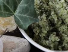 Мятно-ванильный скраб для тела в домашних условиях