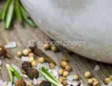 Морская соль с розмарином