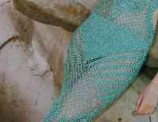 Платье с узором ананас схема